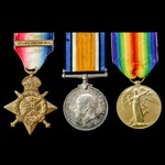 A Great War 1914 Commissioned in the Field and August 1915 Cuinchy Officer Casualty group awarded...