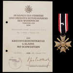 Germany – Third Reich: The Potentially Interesting Salerno Landings Iron Cross 2nd Class Decorati...