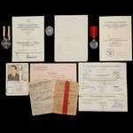 Germany – Third Reich: An Interesting Small Arctic Front Document Group to Obergefreiter Ludwig H...