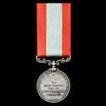 Rocket Life Saving Apparatus Volunteer Long Service Medal, GVI bust with Board of Trade reverse, ...