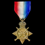 1914-1915 Star, awarded to Lance Corporal later Corporal A. England, Wiltshire Regiment, later Ro...