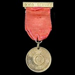 A Girls' Life Brigade Medal, unnamed as issued.