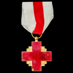 France: Medal of the Recompense of the French Red Cross, Gold Grade, 2nd type, 1950 issue