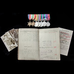 A very fine Second World War 1944 to 1945 Italy and Greece operations, Suez Crisis and Cyprus EOK...