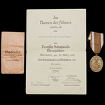 Germany – Third Reich: A fine evacuation of the Rzhev Salient Iron Cross 2nd Class and St. Mere E...