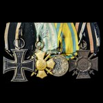 Germany - Imperial, Prussian Empire and Kingdom of Saxony: Group of 4 awards comprising: Iron Cro...