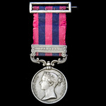 The fascinating and important India General Service Medal 1854-1895, 1 Clasp: Persia, awarded to ...