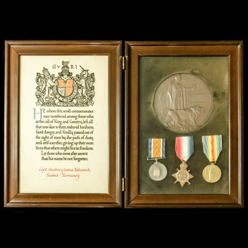 The interesting framed Great . | London Medal Company