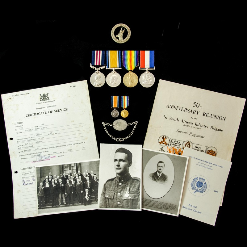 The truly exceptional and ext.   London Medal Company