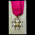 The Most Honourable Order of the Bath, Companion, C.B., Military Division, neck badge, silver-gil...