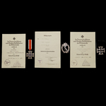 Germany – Third Reich: An Interesting Arctic Front Iron Cross 2nd Class, Iron Cross 1st Class and...