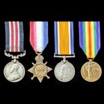 A Great War Western Front Final Advance October 1918 Posthumous Military Medal group awarded to ...