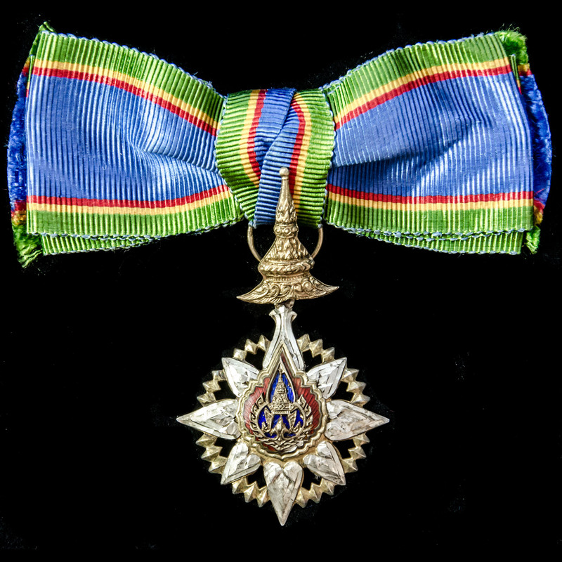 ​  Thailand: Most Noble Order. | London Medal Company