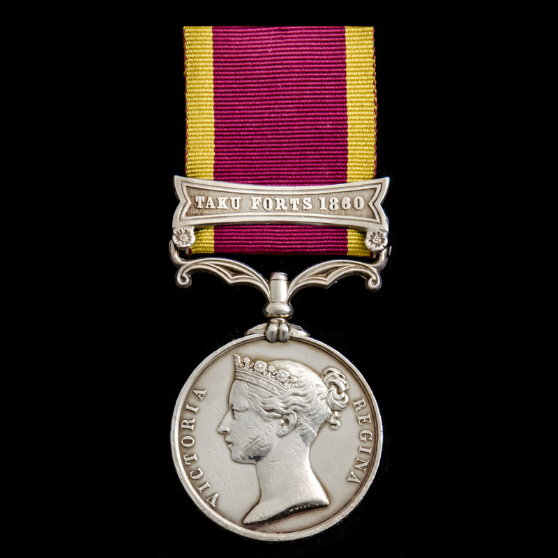 Second China War Medal 1856-1.   London Medal Company