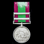 Afghanistan Medal 1878-1880, 2 Clasps: Charasia, Kabul, awarded to Lance Corporal S. Aston, 67th ...