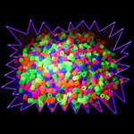 Blacklight UV-Reactive Neon Fluorescent Dayglo Fluorescent Beads