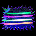 Blacklight UV-Reactive Neon Fluorescent Dayglo Satin Ribbon 15mm wide