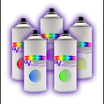 UV Invisible Effect Colour Spray Paint - New *Coming Soon*