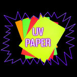 Blacklight UV-Reactive Neon Fluorescent Dayglo Paper A4