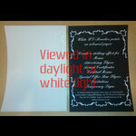 Invisible White UV Document P. | UV Gear