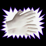 Latex Gloves for Powder Handling - 5 pairs