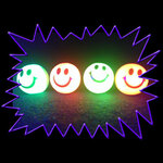 Blacklight UV-Reactive Neon Fluorescent Dayglo Small Rubber Bouncy Ball 35mm
