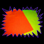 Blacklight UV-Reactive Neon Fluorescent Dayglo Polar Fleece Material