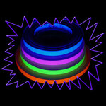 Blacklight UV-Reactive Neon Fluorescent Dayglo Adhesive Vinyl Tape 10mm