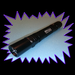 UV Gear X25 365NM 5 watt UV LED torch
