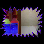 Ultra Violet Invisible Hazmat Simulation Fluid