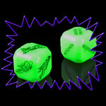 Glow in the Dark Love Dice Game