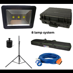 UV Glow Sports - Complete Lighting Systems 4/6/8 lamp options