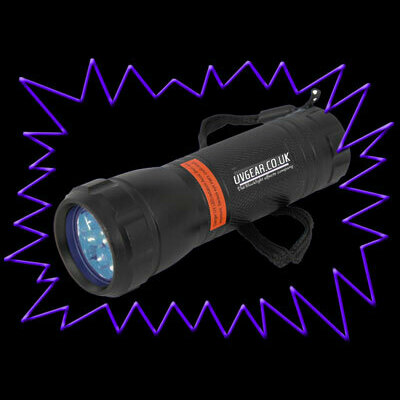 UV Gear Best Value 9 LED 365nm UV Torch - product image