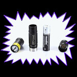 UV Gear X35 365NM 5 watt UV LED torch - Rechargeable