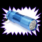UV Gear Economy Ultra Violet Pocket Torch 395nm