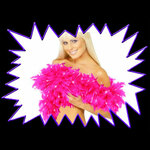 Blacklight UV-Reactive Neon Fluorescent Dayglo Feather Boa