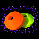 Ultra Violet Fluorescent UV Neon Sports Marking Cones
