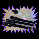 UV Invisible marker pen set with UV LED keychain light