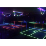 UV Glow Sports Lighting HIRE - 4,6,8 lamp system