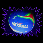 Blacklight UV-Reactive Neon Fluorescent Dayglo Netball