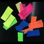 Blacklight UV-Reactive Neon Fluorescent Dayglo Confetti