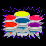 UV Reactive Water-Based T-Shirt Screenprinting Ink 1 Kilo