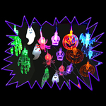 Halloween LED Effect themed string lights