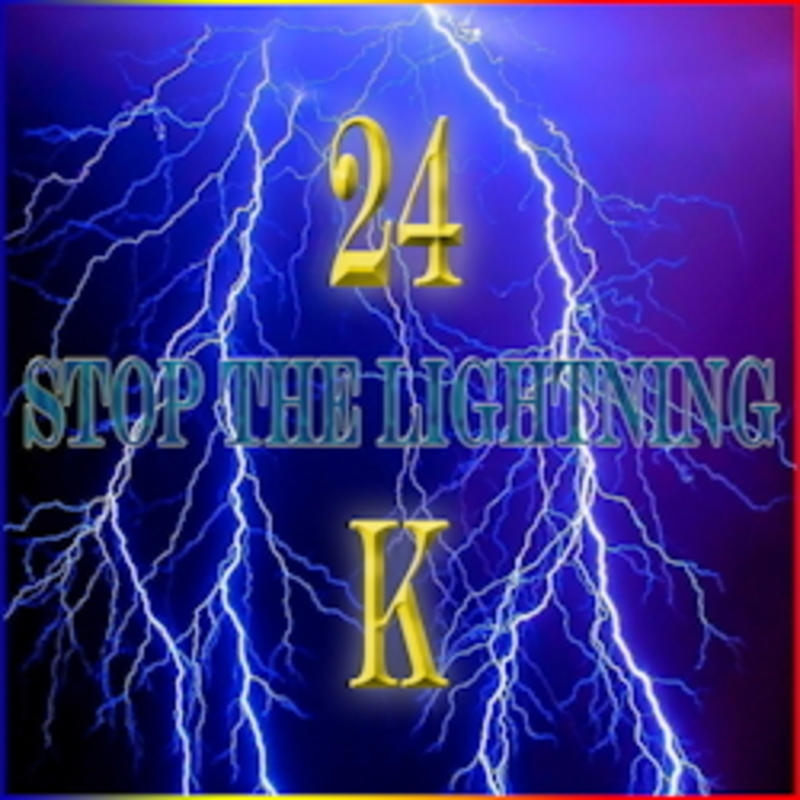 Stop the lightning/24K -REMAS. | SinclaireStyle