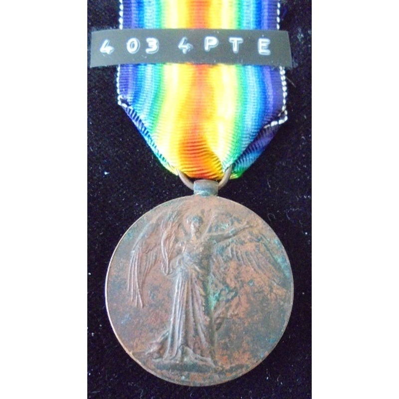 Victory Medal named to 4034 P. | Wellington Auctions