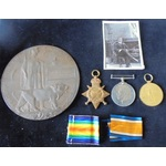 Medals to two members of the Pullman Family, one a Battle of the Somme Casualty and the other kil...