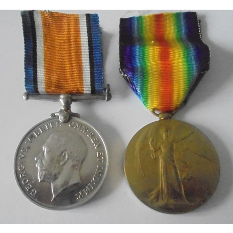 A Great War Pair to Corporal . | Wellington Auctions