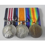 A Great War Third Battle of Ypres October 1917 Military Medal group awarded to Company Sergeant M...