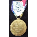 Victory Medal named to 4489 Private W.J. Phillips, Welsh Guards. With copy service papers and Med...