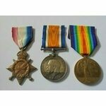 A 1915 Trio to Captain J.H. Berkley, 10th Battalion, West Yorkshire Regiment, who died of wounds ...